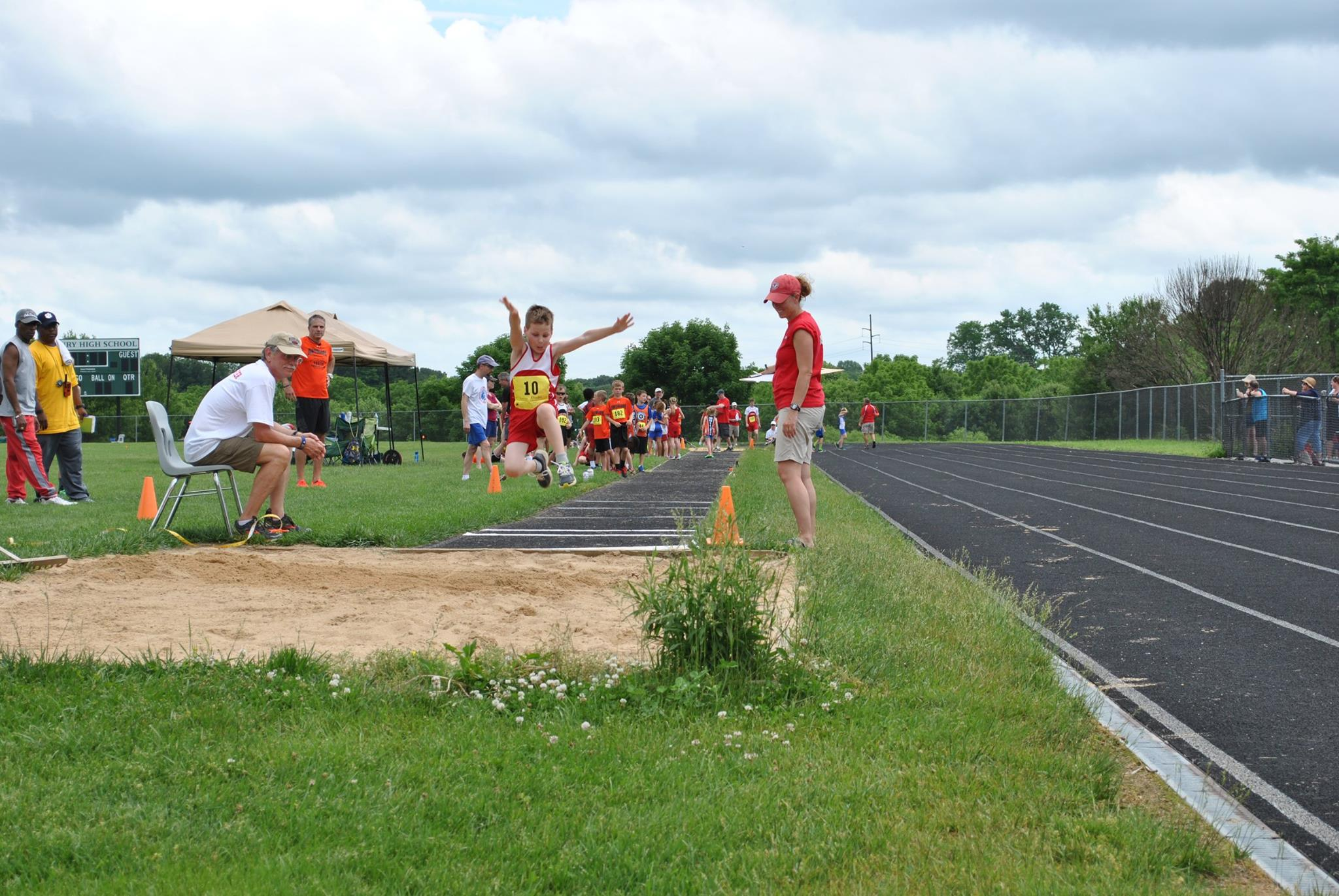 ARROWS Track & Field long jump 2016