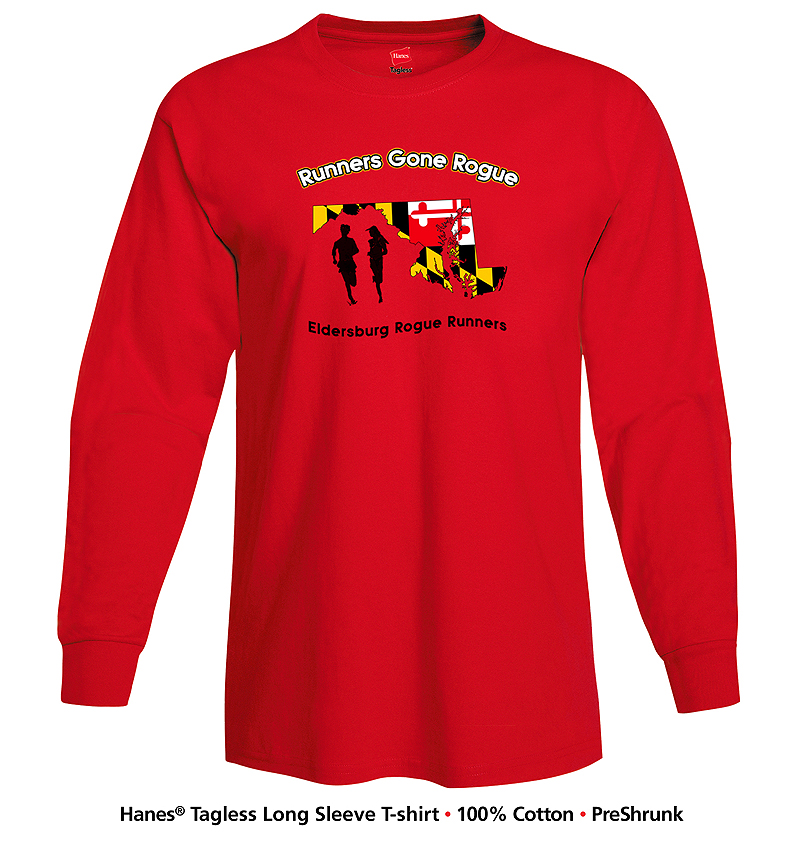 ERR Runners Gone Rogue Long Sleeve T shirt